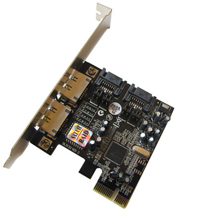 Silicon Image 3132 PCIe Card